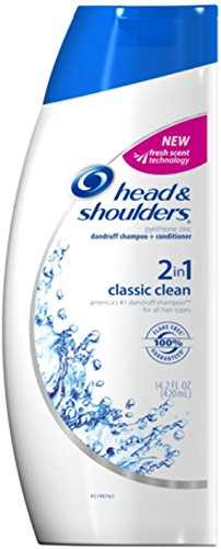 Head & Shoulders Classic Clean 2 in 1 Dandruff Shampoo + Conditioner 14.20 oz (Pack of 12) by Proctor & Gamble Dis