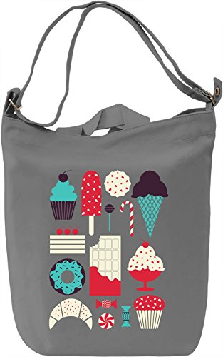 Colourful Deserts Borsa Giornaliera Canvas Canvas Day Bag| 100% Premium Cotton Canvas| DTG Printing|