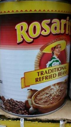 Rosarita Traditional Refried Beans 112 Oz (6 Pack) by Rosarita