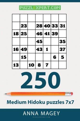 Download 250 Medium Hidoku puzzles 7x7 (Volume 17) pdf