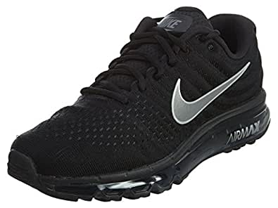 Amazon.com | Nike Mens Air Max 2017 Running Shoes Black