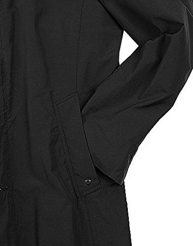 ... Strellson Premium Herren Mantel Helios-W Mikrofaser Warme Jacke  Unifarben, Größe: 50, ...
