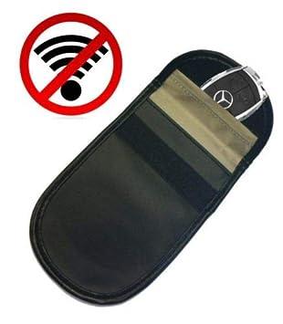 Faraday-Tasche f/ür Keyless-Entry-Autoschl/üsselanh/änger-Signalsperre Autodiebstahl-Pr/ävention