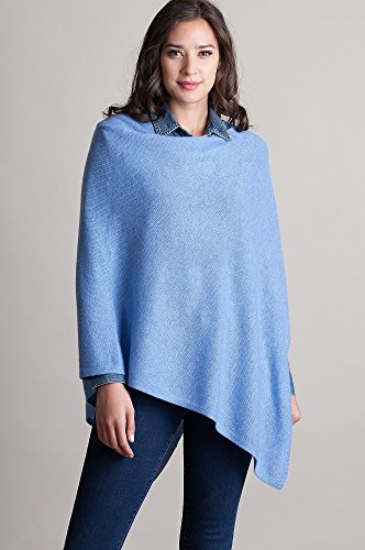 Patricia Fine Cashmere Poncho by Overland Sheepskin Co (Image #2)