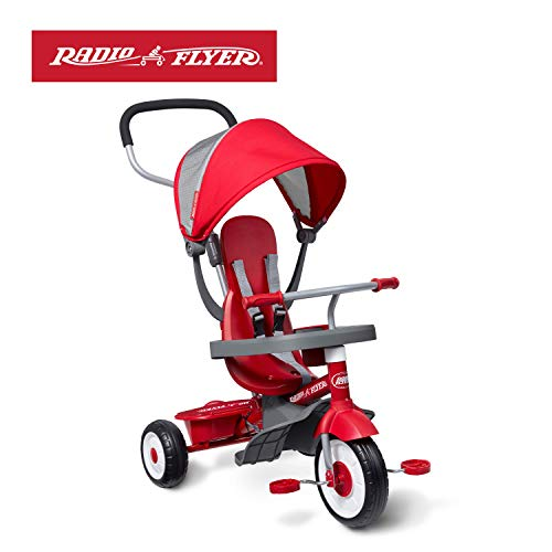 Radio Flyer 4-in-1 Stroll 'N Trike (Girls Radio Flyer Tricycle)