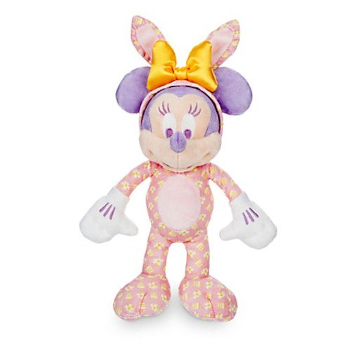 - Minnie Mouse Plush Easter Bunny - 9'' - Walt Disney World