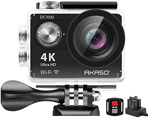 AKASO EK7000 4K WiFi Sports Action Camera Ultra HD Waterproof DV Camcorder 12MP 170 Degree Wide Angle