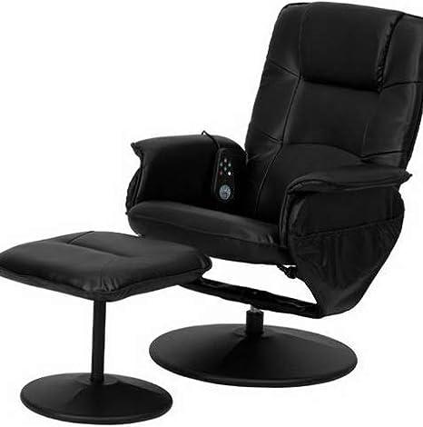 Awe Inspiring Amazon Com Dokis Massaging Black Leather Recliner And Short Links Chair Design For Home Short Linksinfo