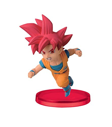 Banpresto Dragon Ball Super 2.8-Inch Super Saiyan God Son Goku World Collectable Figure, Volume 2
