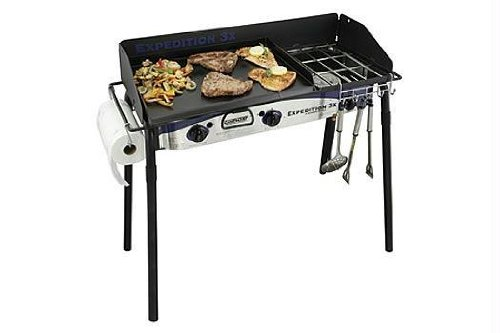 Camp Chef Expedition 3X Triple Burner Stove, Outdoor Stuffs