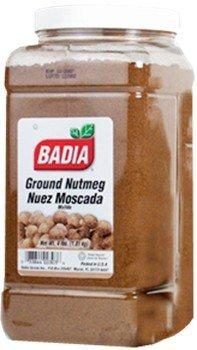 Badia Nutmeg Ground 4 lbs