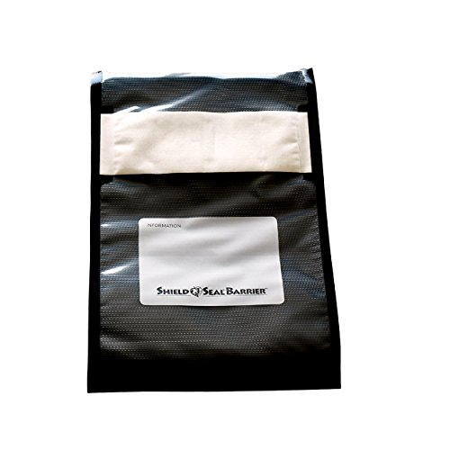 ShieldNSeal 8″ x 12″ Clear and Black Vacuum Seal Barrier Bags SNS - Bag Barrier