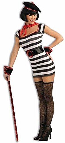 Costumes Parisien (La Parisienne Girl Adult Costume - XS/S)