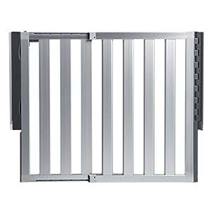 Amazon Com Munchkin Loft Aluminum Baby Gate Silver