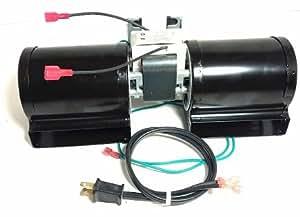 Fireplace Blower Heat N Glow GFK-160A; Regency Wood Stove Insert 846515; Royal GFK-160; Jakel; Rotom # R7-RB168B;Blower only