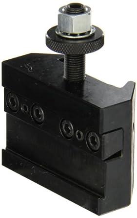 "Dorian Tool QITPN-7-71C Extra Heavy Chromium Molybdenum Alloy Steel Quick Change Reversible Duty Cut-Off Blade Toolholder for QITP25N Quadra Indexing Quick Change Tool Post, 1-1/4"" Width, 1-1/4"" Height"