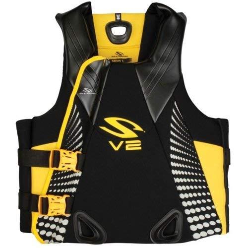 Stearns Men's V2 Series Gold Rush Neoprene PFD Vest, Small