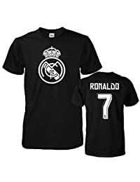 Smart Zone FC Real Madrid Shirt Cristiano Ronaldo Men's T- Shirt