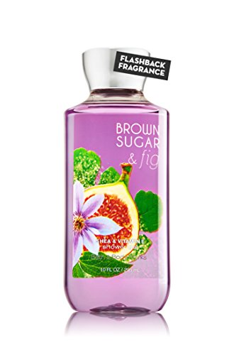 (Bath & Body Works Shea & Vitamin E Shower Gel Brown Sugar & Fig)