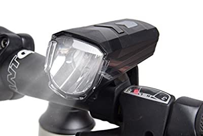USB Rechargeable Bicycle Headlight 150 Lumens LED Bike Light IPX4 Waterproof