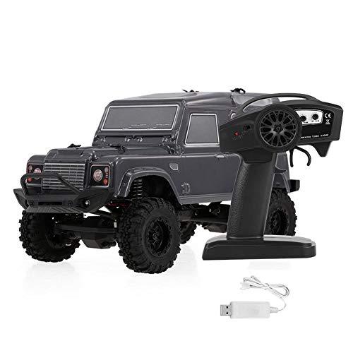 RC クローラー カー オフロード車 4WD モデルラジコン車RuiTail RGT 1/24 2.4Ghzビッグフット トラックカー おもちゃ USB充電 2カラー(ダークグレー)