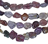 """Genuine Spinel 5mm Multi-color Natural Nuggets Beads Strand Small 15"""""""