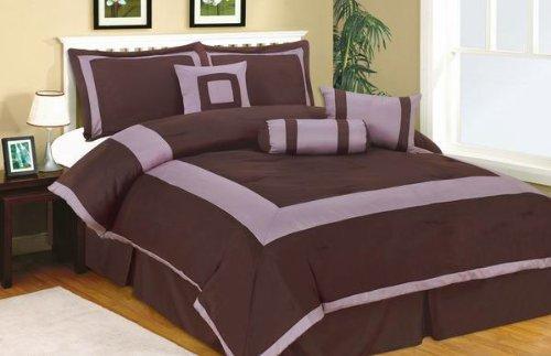 7pc King Size Plaza Comforter Set ()