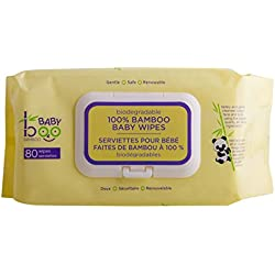 Baby Boo Bamboo Wipes, 80 Count