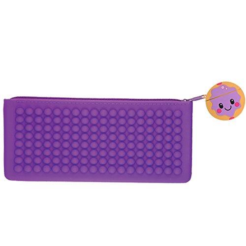 Jelly Donut Scented Smencil Buddies Silicone Pencil Case by Scentco