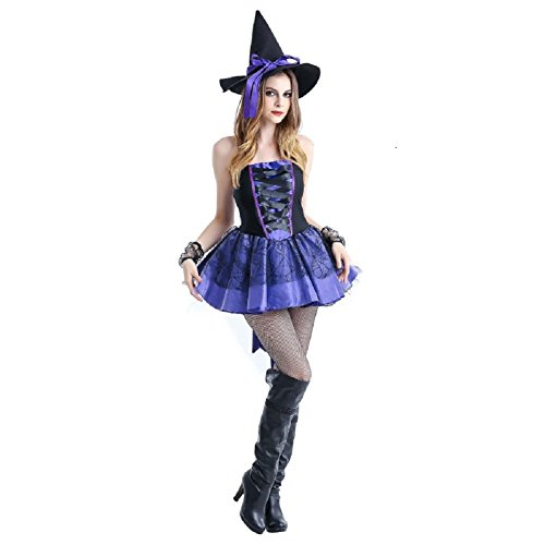 Gsha Womens Halloween Fancy Dress Costume Party Horror Vampire (Women's Plus Size Vampire Costumes)