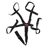 AdaAda Baby 5 Point Harness Safe Belt Dining Chair Bandage Safety Belt Black