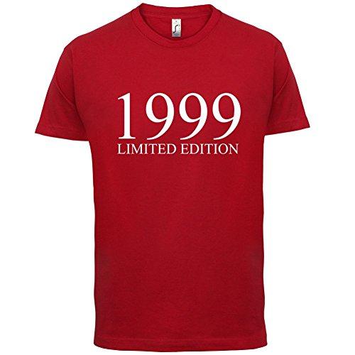 1999 Limierte Auflage / Limited Edition - 18. Geburtstag - Herren T-Shirt - Rot - XS