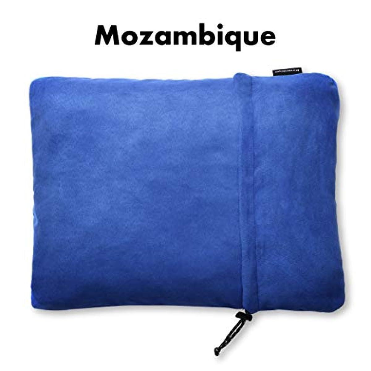 [해외] MOZAMBIQUE모잠비크 캠프 베개 pillow 트래블 pillow 휴대침 【캠프에서도 푹 잘 수 있는 바와 같이하도그린】