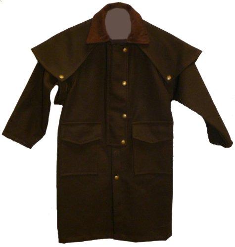 Boys Duster Jacket (Brassada Caped Canvas Childs)