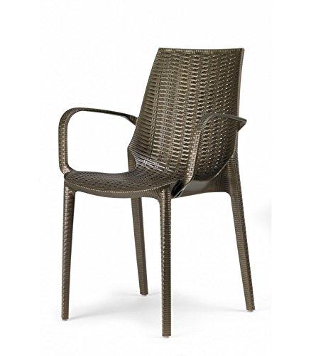 Scab diseño S.p.A. Juego de 4 sillones Lucrezia con ...