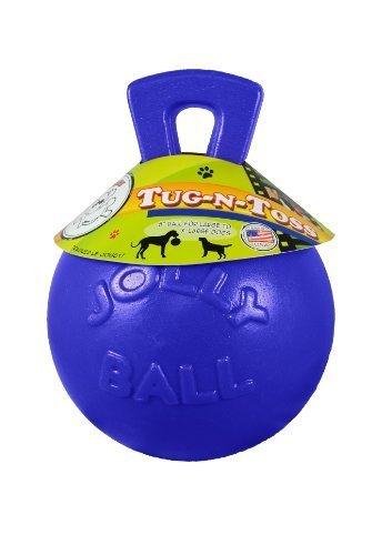 Jolly Pets 6-Inch Tug-n-Toss, bluee by Jolly Pet