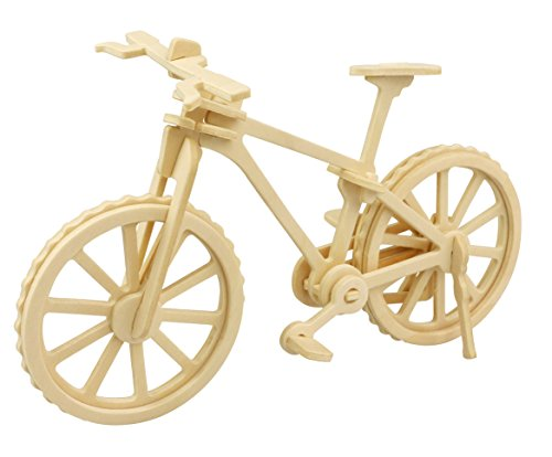 Hands Craft JP271 DIY 3D Wooden Puzzle: Bicycle