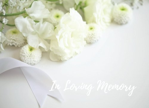 Download In Loving Memory: Celebration Of Life,  Condolence Book. Wake, Memorial Service, Church, Funeral Home Guest Book. (Guests) PDF