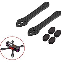 Martian II 220 mm ( 5 Prop ) Racing Drone Spare Part. One Set Arms, 4 mm Carbon Fiber With 4 Landing Pads
