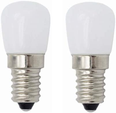 E14 Bombillas LED, bombillas de luz LED de época para refrigerador refrigerador, bombillas de luz de nevera, 3W, máquina de coser, campana de cocina de iluminación, 220 V, 2 piezas LLP-LED