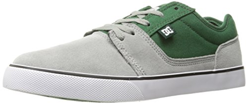 DC Shoes Tonik M, Low-Top Sneaker Uomo Grey/Grey/Green