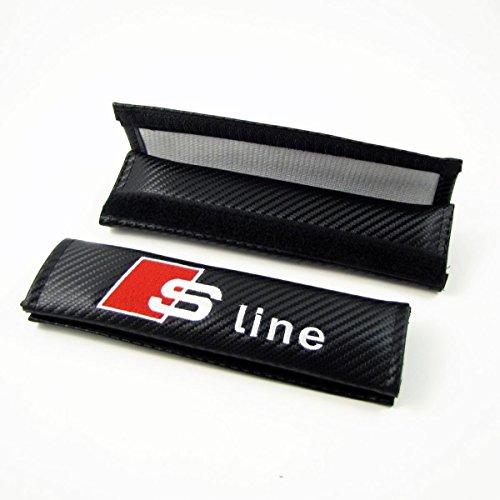 Set of 2 ZolkoCarbon SC-FOR1 Ford Seat Belt Shoulder Pads