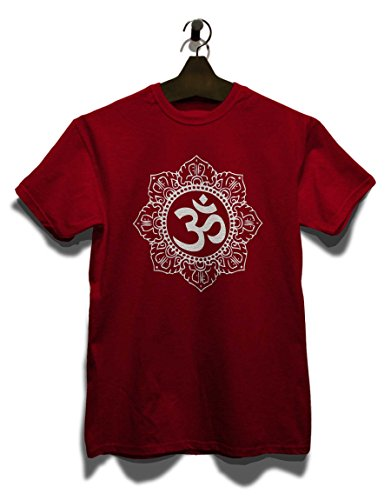 Om Diversi Colori White shirt Symbol Bordeaux Taglie T qwRqCr8
