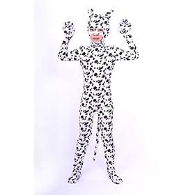 - 41yKb8RN76L - Nedal Kids Halloween Skin Suit Animal Costume Dog Bodysuit Zentai Cosplay