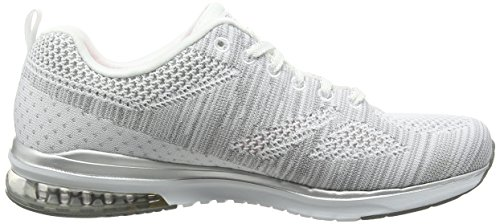 Infinity White Women's Skechers Argent Stand Outdoor Out Air Multisport Shoes Blanc 5qawx87a