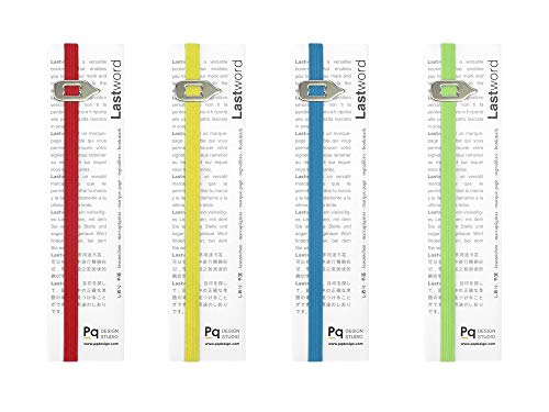 Bookmark Combo Packs - Lastword Bookmarks - Elastic bookmark Perfect for Any Book - book markers for women - bookmarks for men - bookmarks for kids - Don't Lose Your Mark, Design Made in Italy book marks (COMBO PACK)