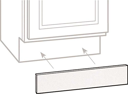 CONTINENTAL CABINETS CABINET ACCESSORIES 2478280 Rsi Home Products Toe Kick, White, 90 90