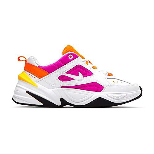 Nike M2K Tekno Womens Shoes White/Laser Fuchsia ao3108-104 (7 M US)