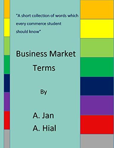 Business Market Terms por Afser Jan,Aamir Hilal