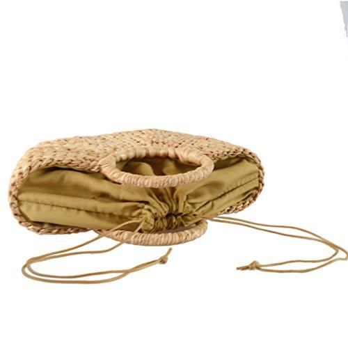 sac paille yunt tout de demi de les de sac à pour lune paille paille fourre main de Sac sac femmes plage d'arche bandoulière sac tout de fourre de sac AIqtSww